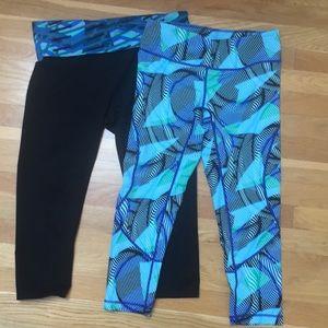 Lot of 2, stylish cropped leggings